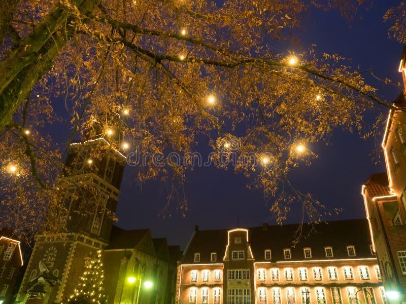 Η πόλη του coesfeld στοκ εικόνες με δικαίωμα ελεύθερης χρήσης