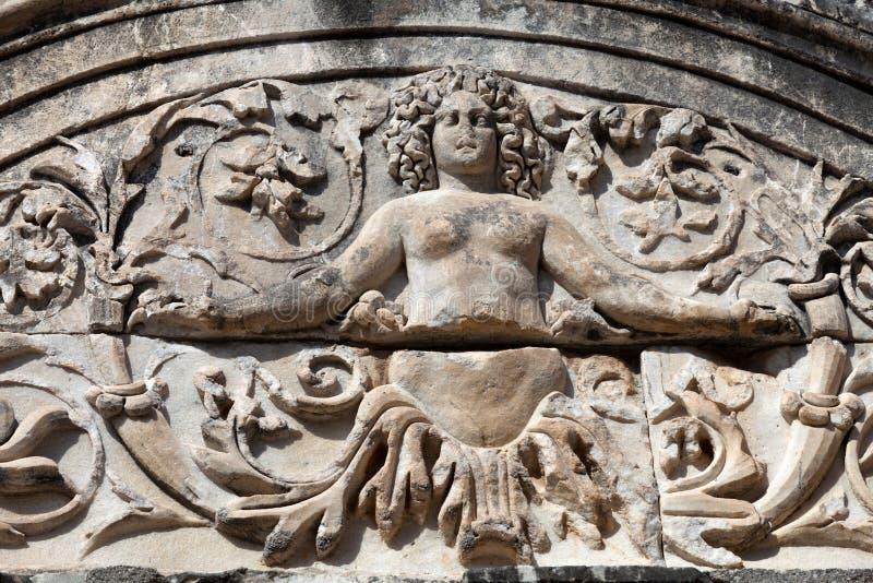 η πόλη Ephesus αρχαίου Έλληνα στοκ φωτογραφίες με δικαίωμα ελεύθερης χρήσης