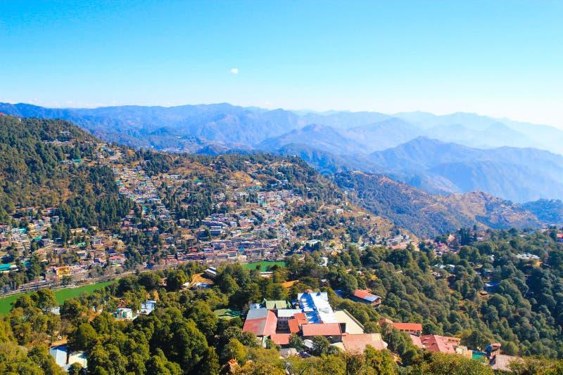 Η πόλη Nainital στοκ φωτογραφία