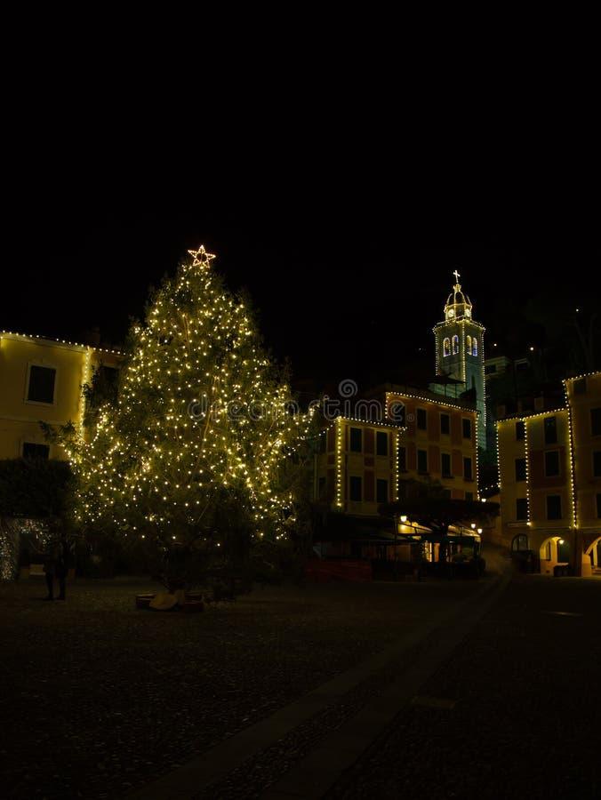 Η πόλη Portofino στοκ φωτογραφία με δικαίωμα ελεύθερης χρήσης