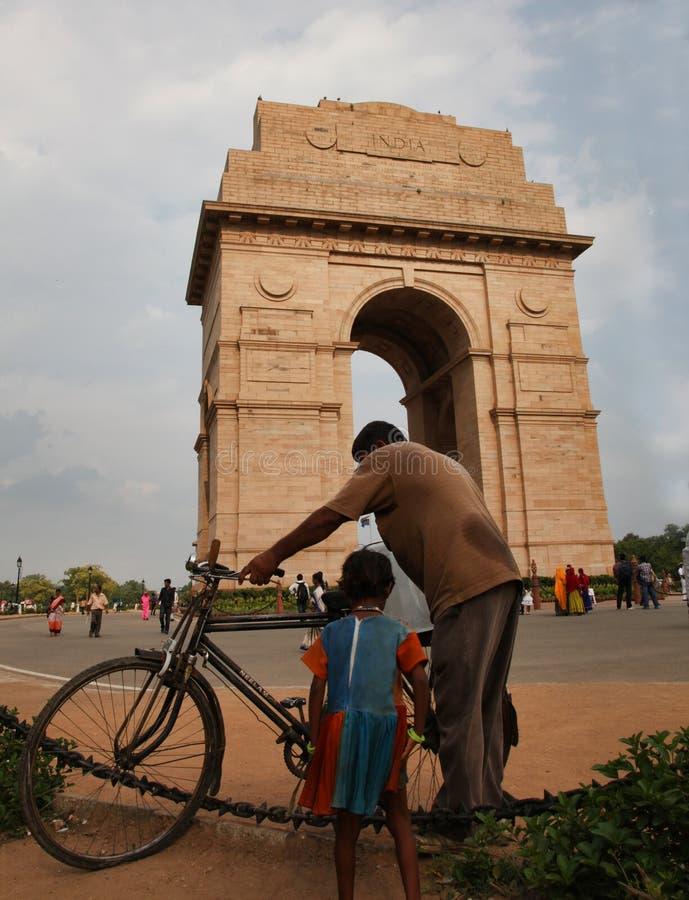 Η πύλη της Ινδίας στοκ εικόνες