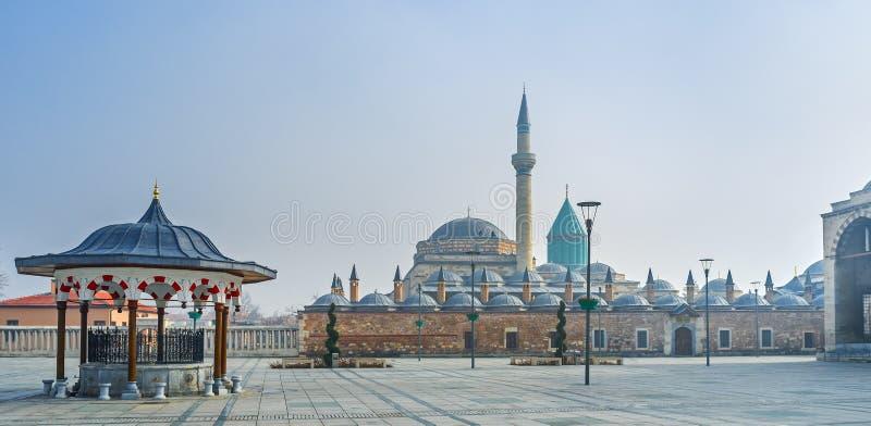 Η πλατεία Mevlana στοκ φωτογραφία με δικαίωμα ελεύθερης χρήσης