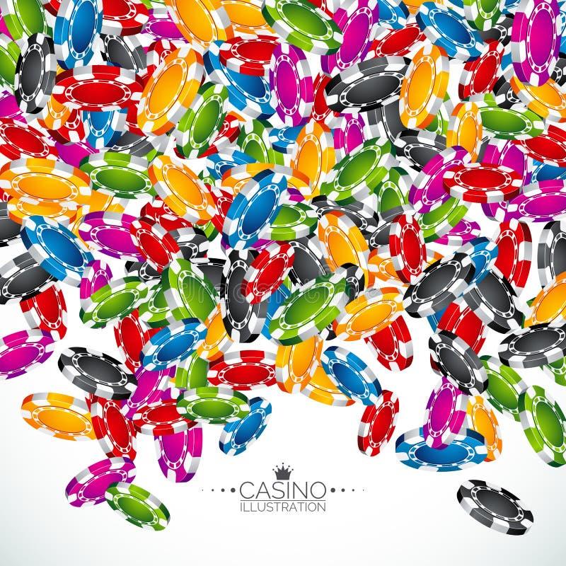Η ρεαλιστική χαρτοπαικτική λέσχη πελεκά την απεικόνιση στο καθαρό υπόβαθρο Απομονωμένη πτώση συμβολικός Διανυσματικό σχέδιο έννοι ελεύθερη απεικόνιση δικαιώματος