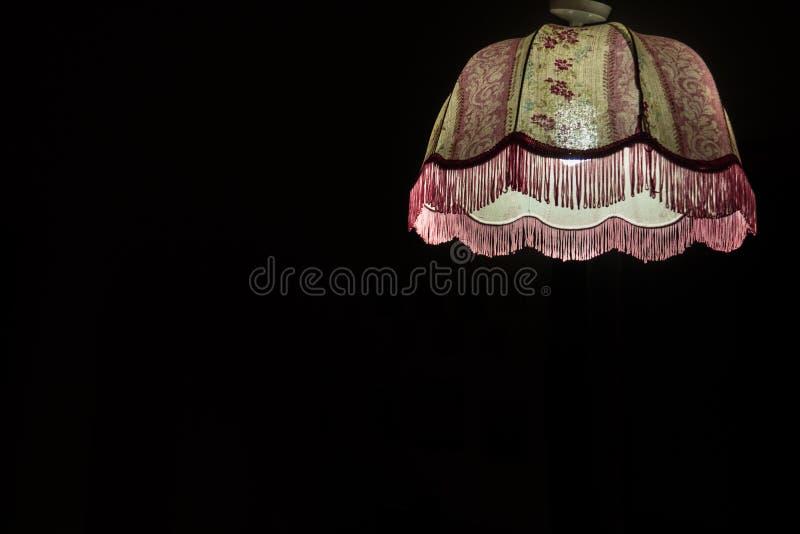 Η ρόδινη σόλο σκιά λαμπτήρων στοκ εικόνες με δικαίωμα ελεύθερης χρήσης