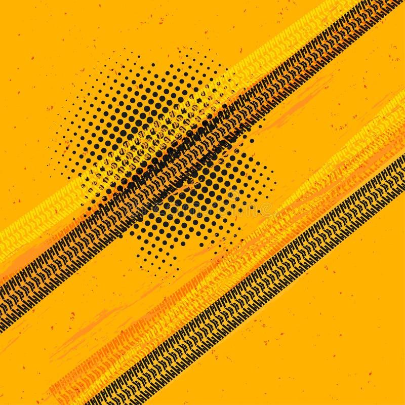 Η ρόδα ακολουθεί το διάνυσμα απεικόνιση αποθεμάτων