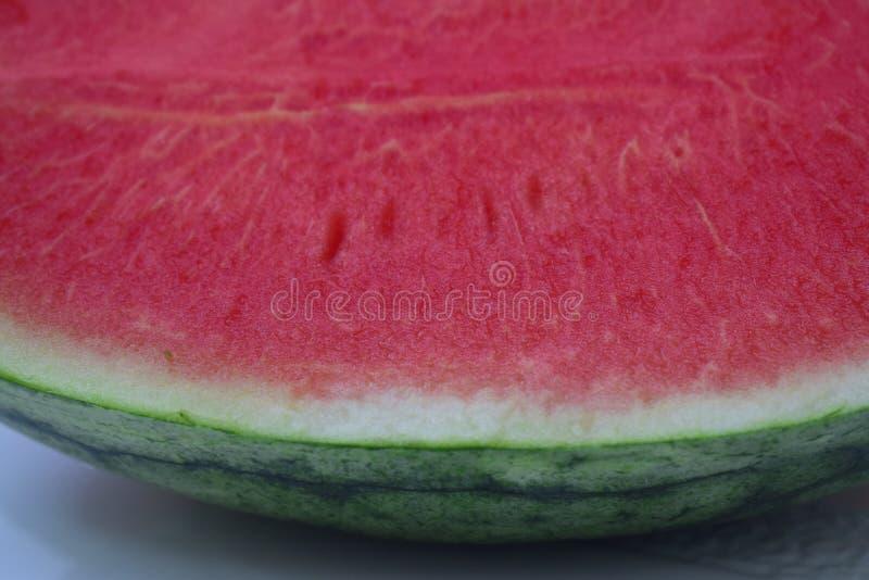 Η σάρκα καρπουζιών WatermelonThe είναι ώριμο, juicy κόκκινο Γλυκό, πολύ νόστιμο ως ορεκτικά στοκ εικόνες με δικαίωμα ελεύθερης χρήσης