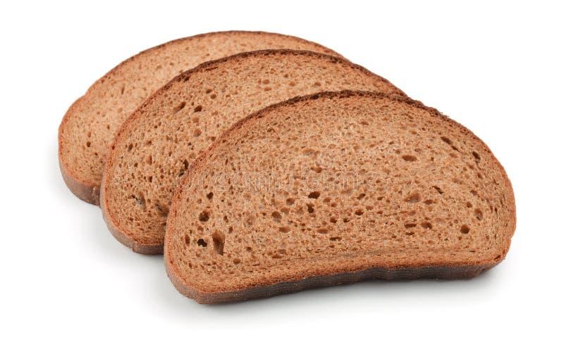 η σίκαλη ψωμιού τεμαχίζει &t στοκ φωτογραφία με δικαίωμα ελεύθερης χρήσης