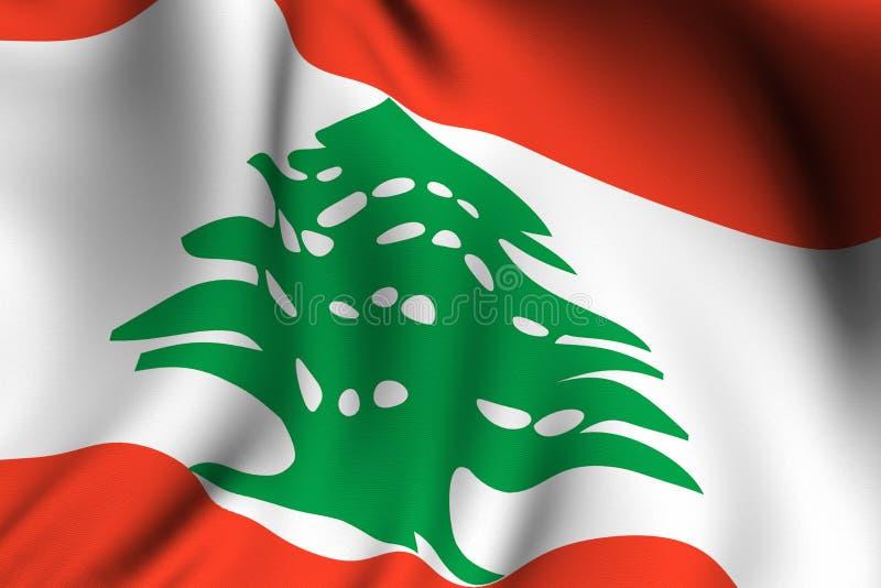 η σημαία Λιβανέζος έδωσε ελεύθερη απεικόνιση δικαιώματος