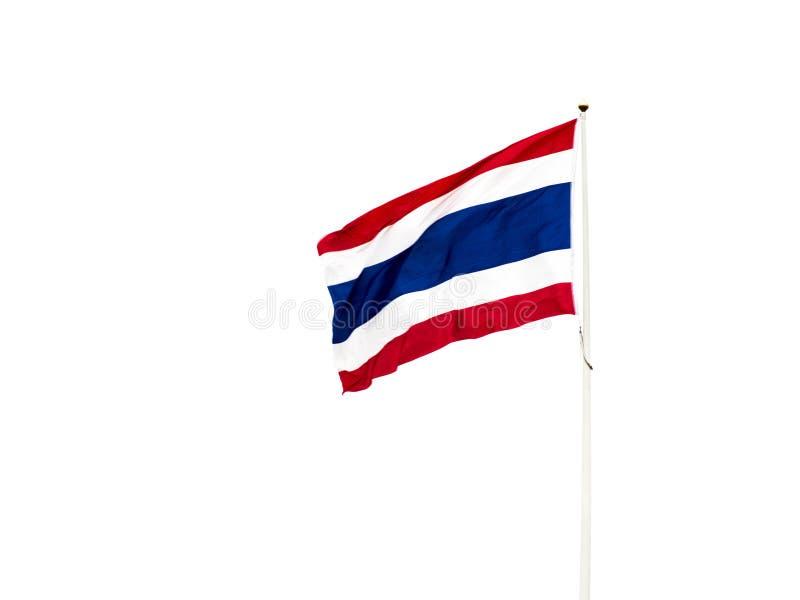 Η σημαία Ταϊλάνδη στοκ φωτογραφία με δικαίωμα ελεύθερης χρήσης