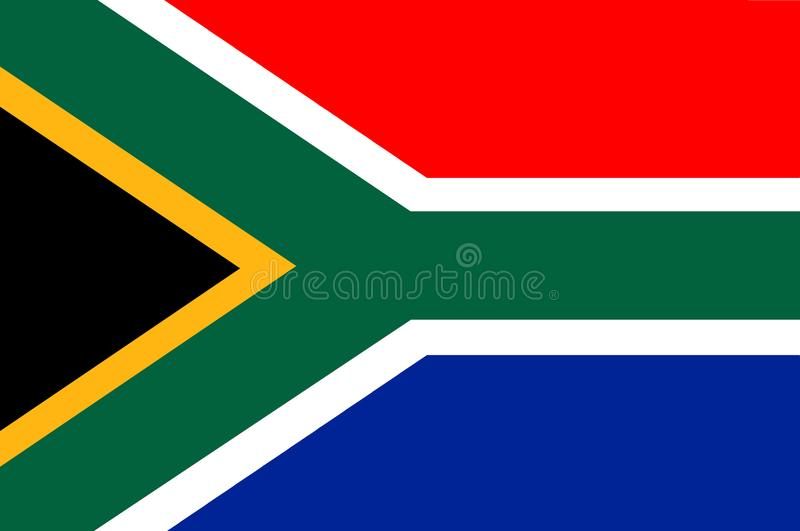 Η σημαία της Νότιας Αφρικής 2 απεικόνιση αποθεμάτων