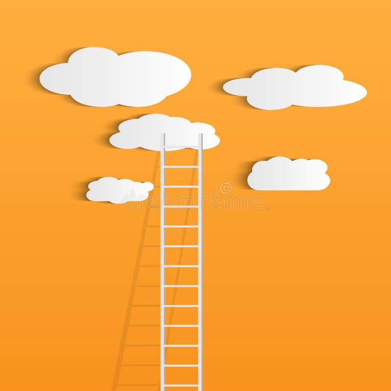Η σκάλα καλύπτει την απεικόνιση απεικόνιση αποθεμάτων
