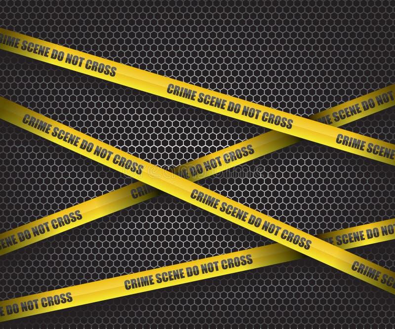 Η σκηνή εγκλήματος δεν διασχίζει ελεύθερη απεικόνιση δικαιώματος