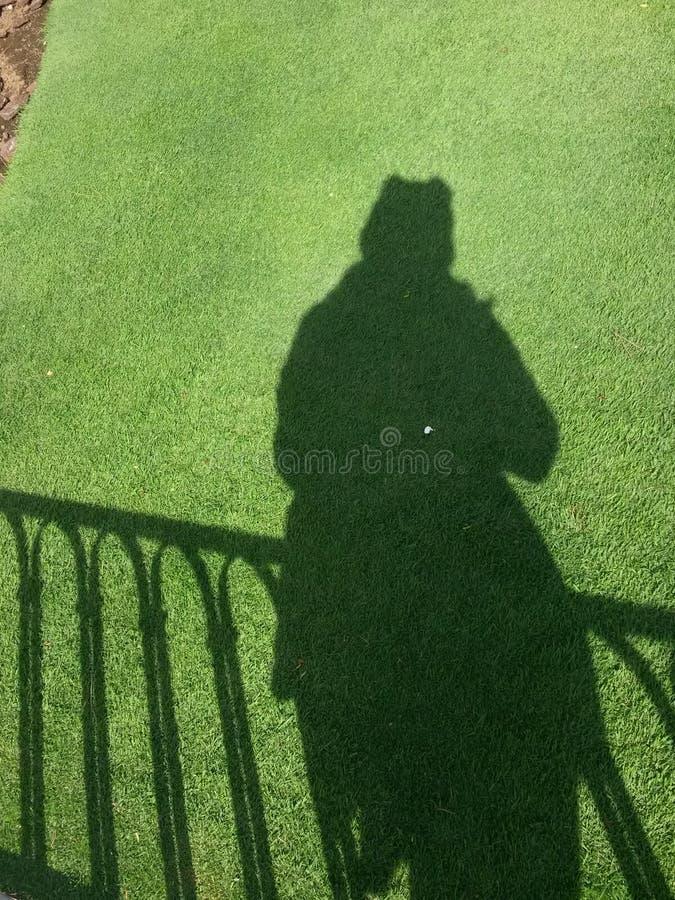 η σκιά μου στοκ εικόνες