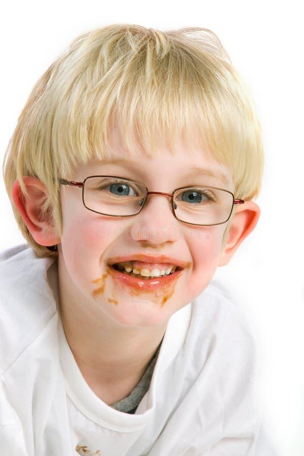 η σοκολάτα κάνει να βρωμίσ στοκ εικόνα με δικαίωμα ελεύθερης χρήσης