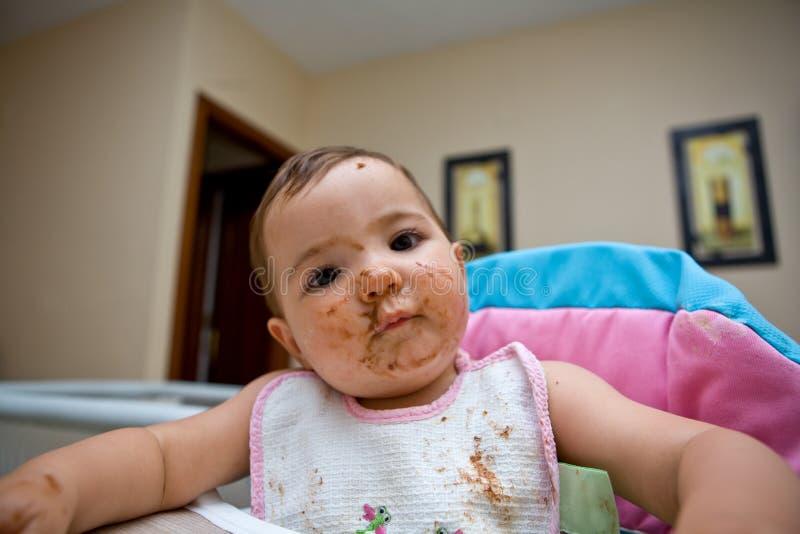 Η σοκολάτα βρωμίζει στοκ φωτογραφίες με δικαίωμα ελεύθερης χρήσης