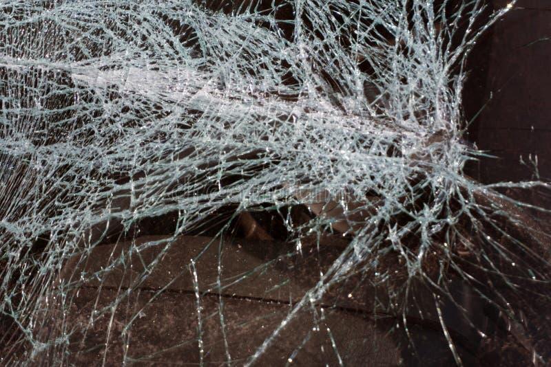 Η σπασμένη σύσταση γυαλιού απομόνωσε τη ρεαλιστική ραγισμένη επίδραση γυαλιού, στοιχείο έννοιας στοκ εικόνες