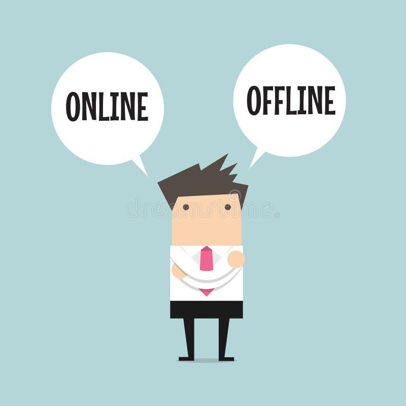 Η στάση επιχειρηματιών συγχέει για να επιλέξει μεταξύ της επιλογής δύο on-line ή off-$l*line απεικόνιση αποθεμάτων