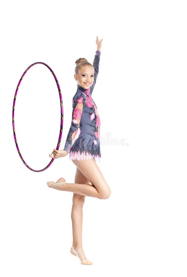 η στεφάνη γυμναστικής κορ στοκ φωτογραφία με δικαίωμα ελεύθερης χρήσης