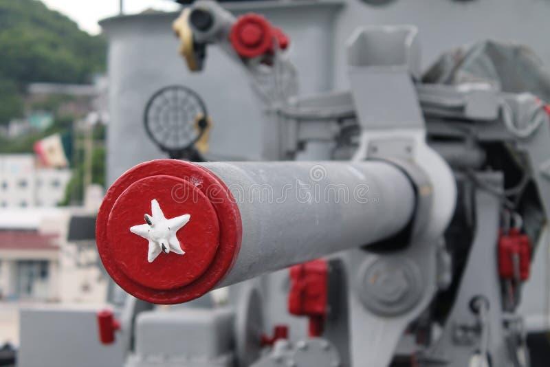 Η στρατιωτική Canon στοκ φωτογραφίες
