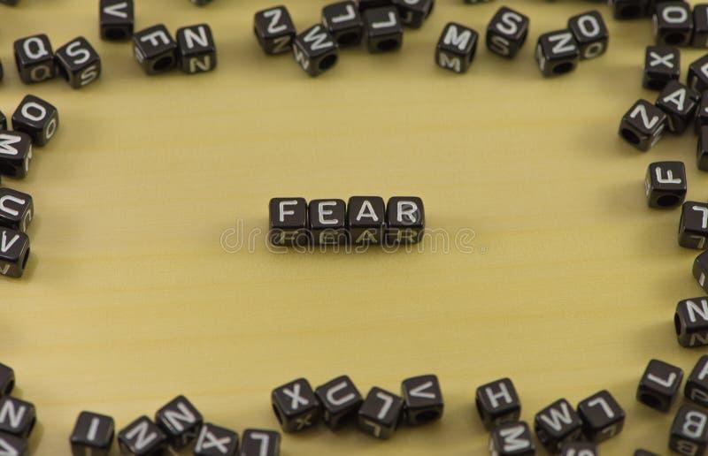 Η συγκίνηση του φόβου στοκ εικόνες με δικαίωμα ελεύθερης χρήσης