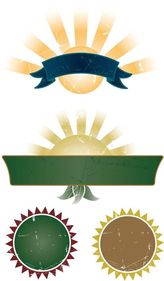 η συλλογή εμβλημάτων σφρ&al ελεύθερη απεικόνιση δικαιώματος