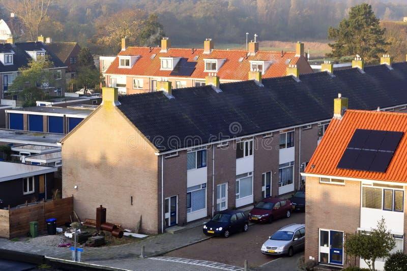 Η συμμετρία των ολλανδικών μονομαχιών στοκ φωτογραφία με δικαίωμα ελεύθερης χρήσης