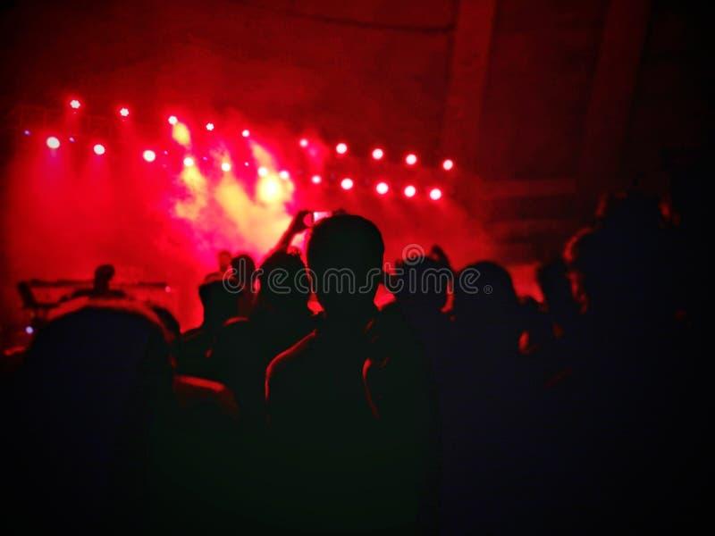Η συναυλία στοκ εικόνες