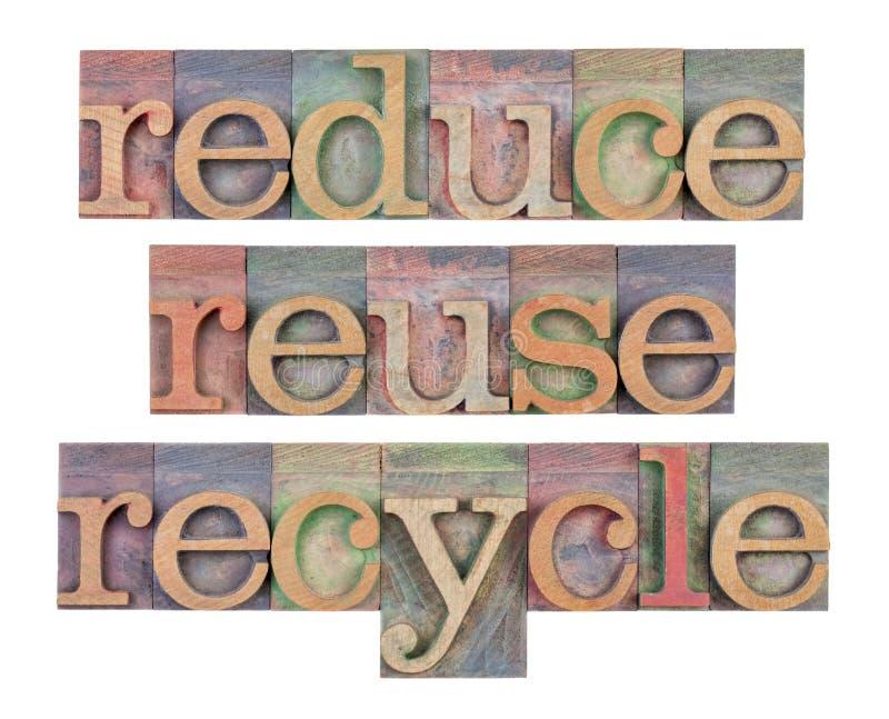 η συντήρηση ανακύκλωσης μ&e στοκ φωτογραφία