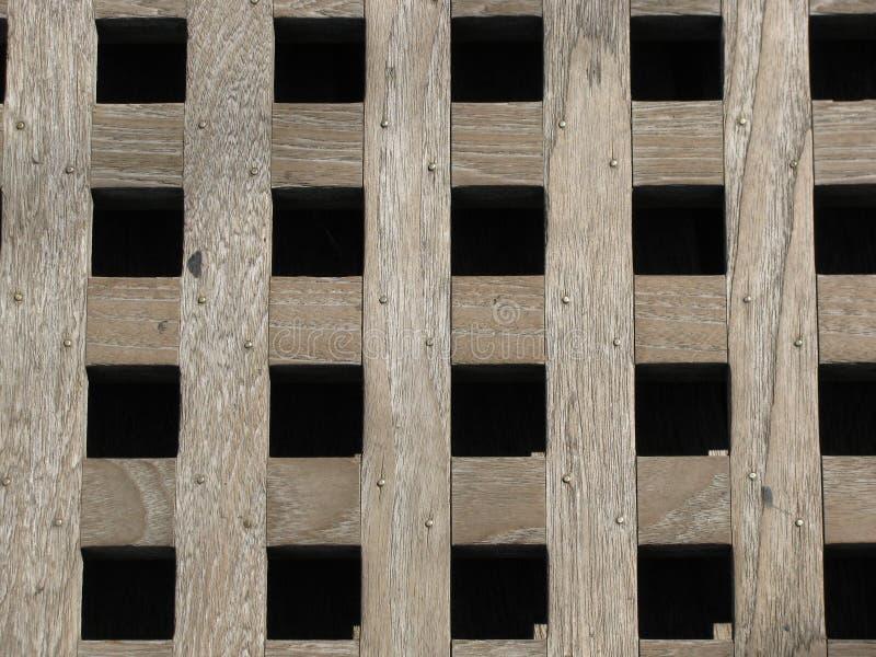 η σχάρα ξεπέρασε ξύλινο στοκ φωτογραφία με δικαίωμα ελεύθερης χρήσης