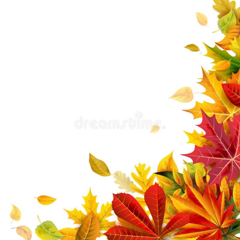η σύνθεση κεριών φθινοπώρου μήλων ξηρά βγάζει φύλλα vase απόλυσης διανυσματική απεικόνιση