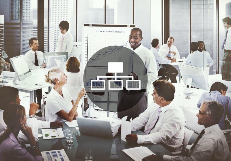 Η σύνδεση σύνδεσης συνδέει την έννοια διεπαφών Διαδικτύου στοκ εικόνες με δικαίωμα ελεύθερης χρήσης