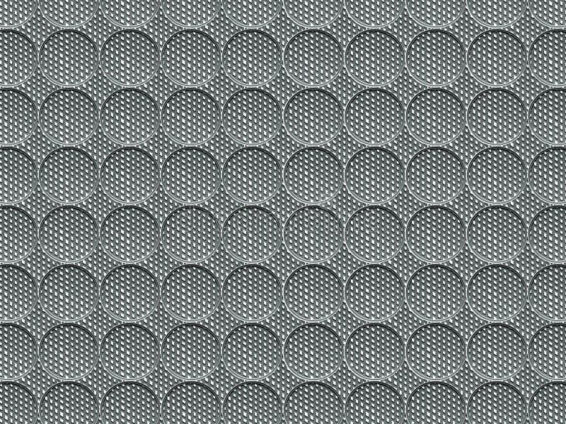 Η σύσταση είναι κυκλική με μια αυλακωμένη επιφάνεια Η εικόνα είναι απλή και καμένη στους γκρίζους τόνους στοκ φωτογραφία με δικαίωμα ελεύθερης χρήσης