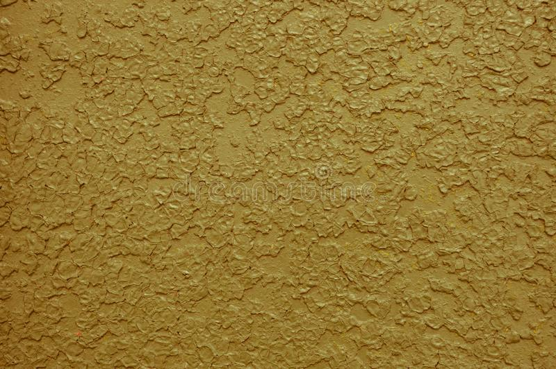 Η σύσταση του μετάλλου σιδήρου χρωμάτισε το φωτεινό κίτρινο χρώμα αποφλοίωσης του παλαιού χτυπημένου γρατσουνισμένου ραγισμένου α στοκ εικόνα με δικαίωμα ελεύθερης χρήσης