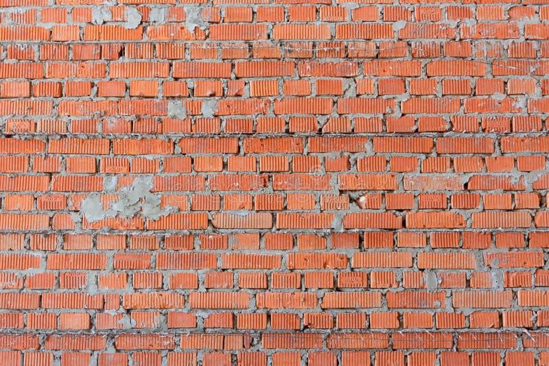Η σύσταση των τοίχων της κατασκευής του πορώδους τούβλου ενίσχυσε την ενίσχυση στοκ φωτογραφίες με δικαίωμα ελεύθερης χρήσης