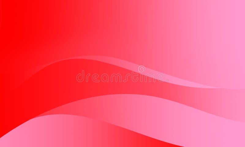Αφηρημένη διανυσματική απεικόνιση η ταπετσαρία οποιεσδήποτε χρήσεις για τα υπόβαθρα ή το ανοιχτό κόκκινο ροζ οικονόμων οθόνης χρω ελεύθερη απεικόνιση δικαιώματος