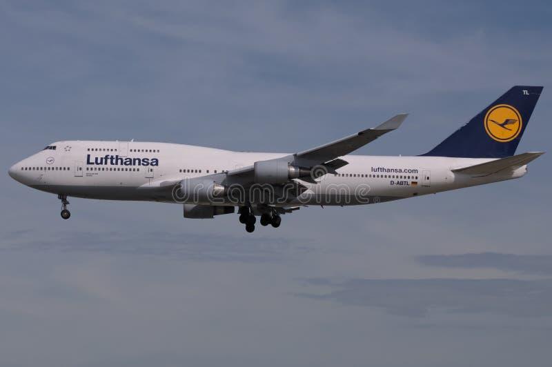 η τεράστια Lufthansa στοκ φωτογραφία με δικαίωμα ελεύθερης χρήσης