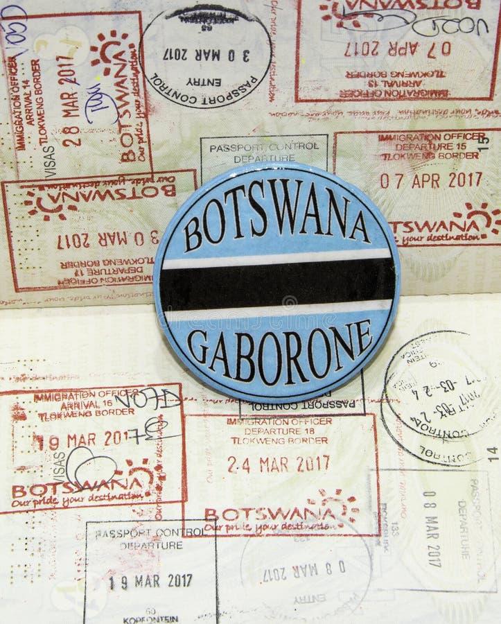 Η τουριστική ιδέα της Μποτσουάνα για τα επαγγελματικά ταξίδια στοκ φωτογραφίες