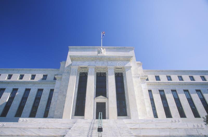 Η τράπεζα Κεντρικής Τράπεζας των ΗΠΑ στοκ εικόνες