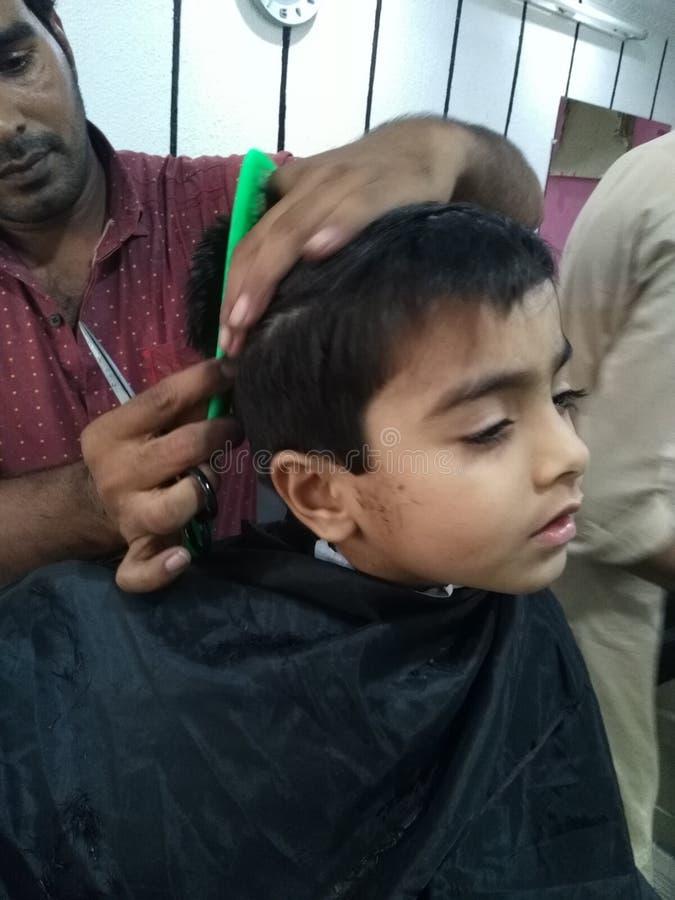 Η τρίχα έκοψε πριν από το eid στοκ φωτογραφίες με δικαίωμα ελεύθερης χρήσης