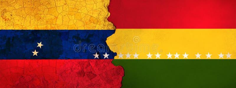 η τρισδιάστατη απεικόνιση για τους της Βενεζουέλας μετανάστες που φεύγουν στη Βολιβία ως οικονομική/πολιτική κρίση επιδεινώνεται απεικόνιση αποθεμάτων