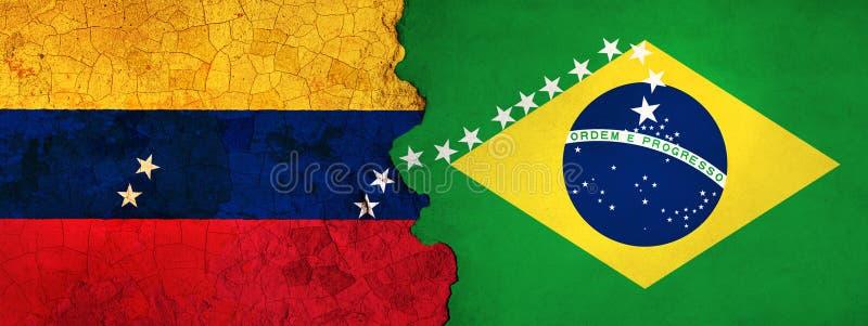 η τρισδιάστατη απεικόνιση για τους της Βενεζουέλας μετανάστες που φεύγουν στη Βραζιλία ως οικονομική/πολιτική κρίση επιδεινώνεται απεικόνιση αποθεμάτων