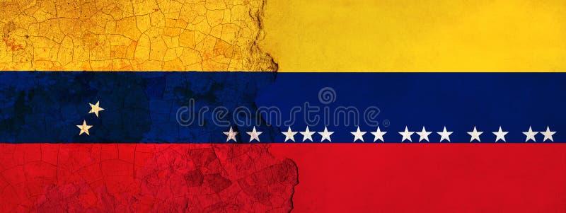 η τρισδιάστατη απεικόνιση για τους της Βενεζουέλας μετανάστες που φεύγουν στην Κολομβία ως οικονομική/πολιτική κρίση επιδεινώνετα απεικόνιση αποθεμάτων