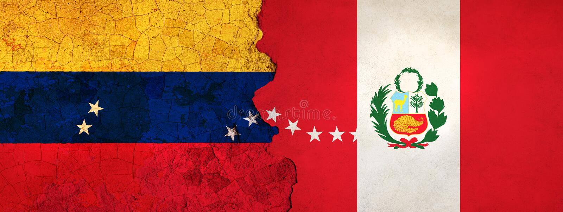 η τρισδιάστατη απεικόνιση για τους της Βενεζουέλας μετανάστες που φεύγουν στο Περού ως οικονομική/πολιτική κρίση επιδεινώνεται διανυσματική απεικόνιση