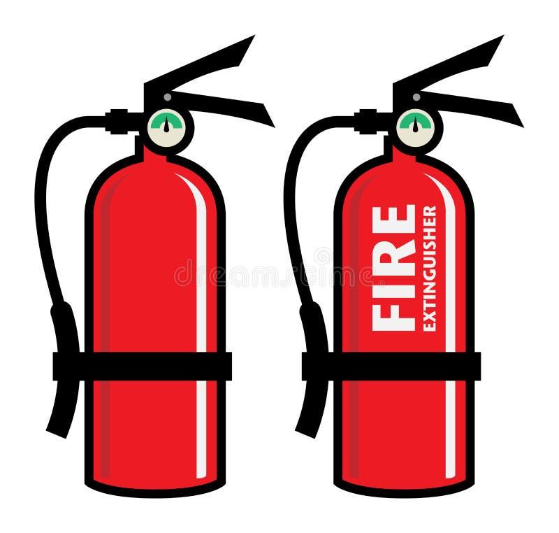 η τρισδιάστατη εικόνα πυρκαγιάς πυροσβεστήρων ανασκόπησης απομόνωσε το λευκό απεικόνιση αποθεμάτων