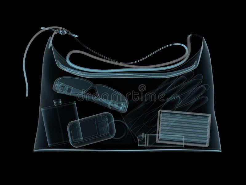 η τσάντα μετακινείται την α& απεικόνιση αποθεμάτων