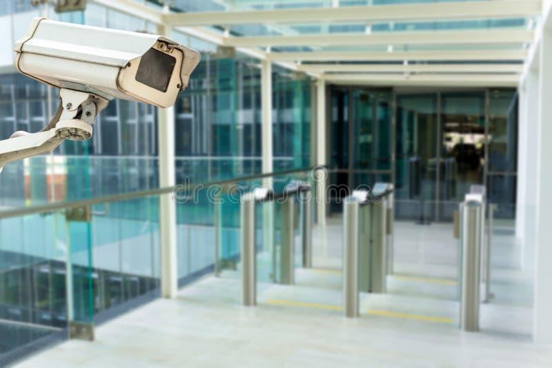 η υψηλή απεικόνιση CCTV φωτογραφικών μηχανών ανασκόπησης απομόνωσε το ποιοτικό λευκό στοκ εικόνες με δικαίωμα ελεύθερης χρήσης