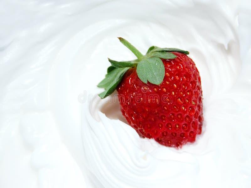 η φράουλα 2 κτυπά στοκ εικόνες