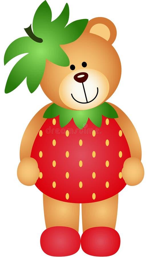 Η φράουλα Teddy αντέχει απεικόνιση αποθεμάτων