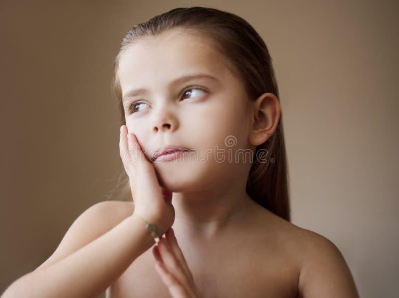 Η φροντίδα δέρματος είναι σημαντική στοκ εικόνες με δικαίωμα ελεύθερης χρήσης