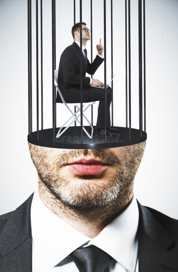 Η φυλακή διεύθυνε τον ανώτερο υπάλληλο στοκ φωτογραφίες με δικαίωμα ελεύθερης χρήσης